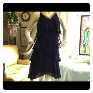 Beautiful party/special event dress, navy